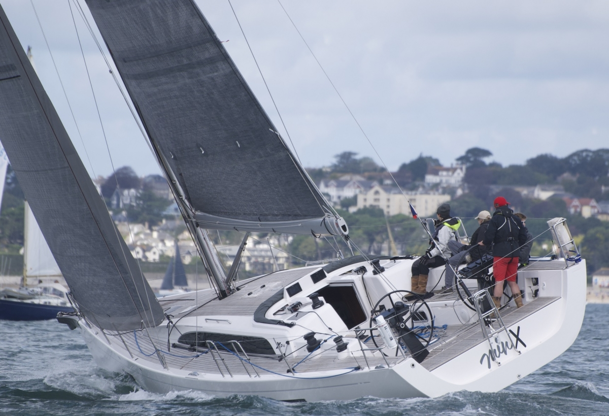 XP44 in action with Ultimate Sails