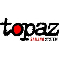 Topaz mast up boom down PVC top cover