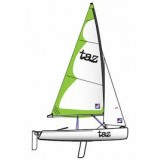 Topper Taz breathable mast up boom down polycotton top cover